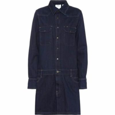 カルバンクライン Calvin Klein Jeans Est. 1978 レディース ワンピース デニム ワンピース・ドレス Denim dress rinse indigo