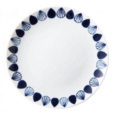 ネイビーブルー NAVY BLUE 23cmプレート ドロップ co023-047