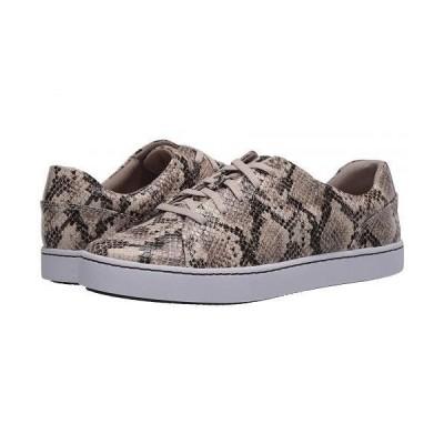 Clarks クラークス レディース 女性用 シューズ 靴 スニーカー 運動靴 Pawley Springs - Taupe Snake Synthetic