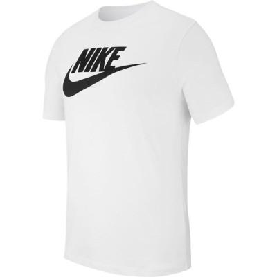 ナイキ Nike メンズ Tシャツ トップス Icon Futura T-Shirt White/Black