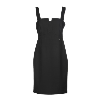 リュー ジョー LIU •JO ミニワンピース&ドレス ブラック 42 88% ポリエステル 12% ポリウレタン ミニワンピース&ドレス