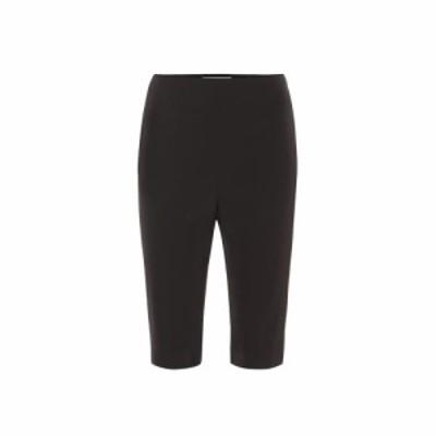 メゾン マルジェラ Maison Margiela レディース ショートパンツ ボトムス・パンツ Stretch-twill shorts Black