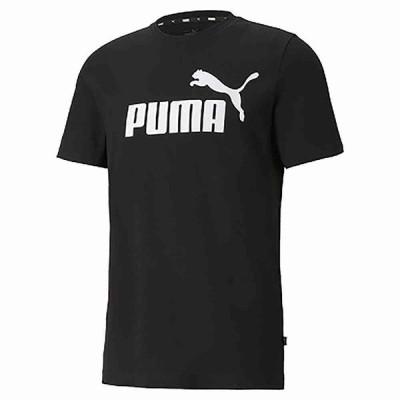 プーマ PMJ-588737 01 ESS ロゴ Tシャツ (01)プーマ ブラック メンズ・ユニセックス