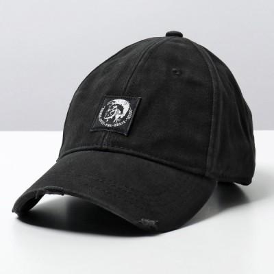DIESEL ディーゼル 00SHHZ 0NAUI CONDI-MAX ベースボールキャップ 帽子 ダメージ加工 900A メンズ