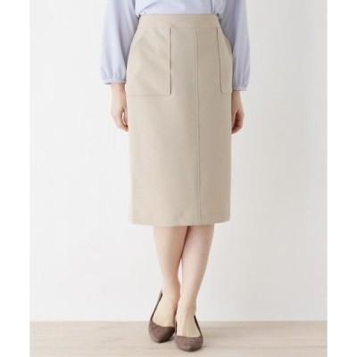 SOUP / スープ ダブルポケットストレッチタイトスカート