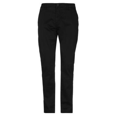 ゲス GUESS パンツ ブラック 29W-32L コットン 98% / ポリウレタン 2% パンツ