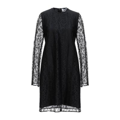 エムエスジーエム MSGM ミニワンピース&ドレス ブラック 38 ナイロン 100% ミニワンピース&ドレス