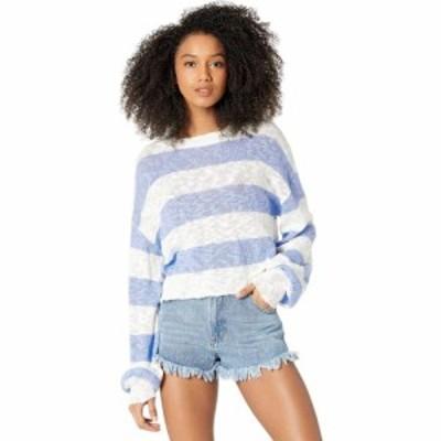 ビーチライオット Beach Riot レディース ニット・セーター トップス Ava Sweater Sweet Lavender Stripe