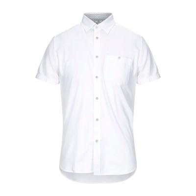 テッドベーカー TED BAKER シャツ ホワイト 2 コットン 97% / ポリウレタン 3% シャツ