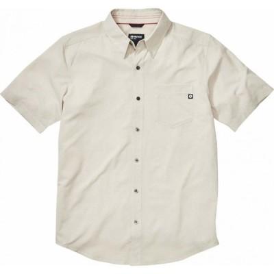 マーモット Marmot メンズ 半袖シャツ トップス Aerobora Short Sleeve Shirt Moonbeam