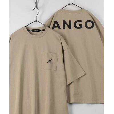 tシャツ Tシャツ 【KANGOL/カンゴール】バックプリント ブランドロゴ ポケット付Tシャツ