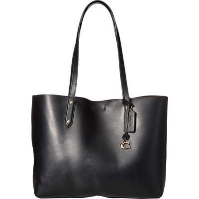 コーチ COACH レディース トートバッグ バッグ Refined Calf Leather Central Tote GD/Black