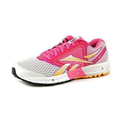 Reebok Womens Running靴サイズ10?M v52676?1つガイドホワイトピンク合成 カラー: ホワイト
