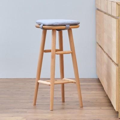 スツールカバークッション ハイスツール 椅子 ファブリック 北欧 ノルン ISSEIKI ポイント最大32% 4月25日
