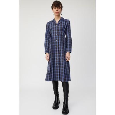 【マウジー/MOUSSY】 WAIST TUCK CHECK シャツドレス