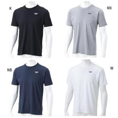 【送料無料】 スピード speedo メンズ ショートスリーブスタンダードTシャツ 半袖Tシャツ トップス トレーニングウェア ロゴ SA31910