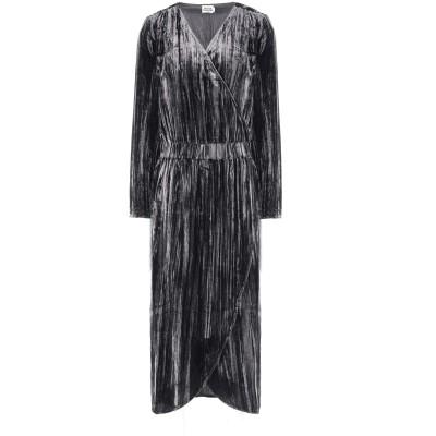 TWIST & TANGO 7分丈ワンピース・ドレス グレー 34 レーヨン 70% / ナイロン 30% 7分丈ワンピース・ドレス