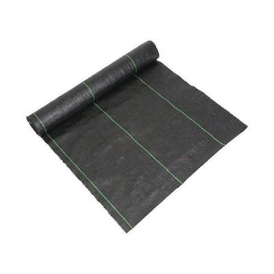 セフティー3 高密度防草シート 玄 耐候性約3年 幅0.5m×長さ10m