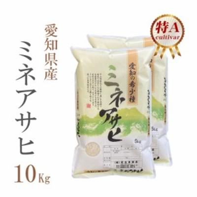 米 お米 即日出荷 10キロ 送料無料 白米 幻の米 ミネアサヒ みねあさひ 5kg×2袋 愛知県産 令和2年産 特A 1等米 10kg 安い 即日発送 クー
