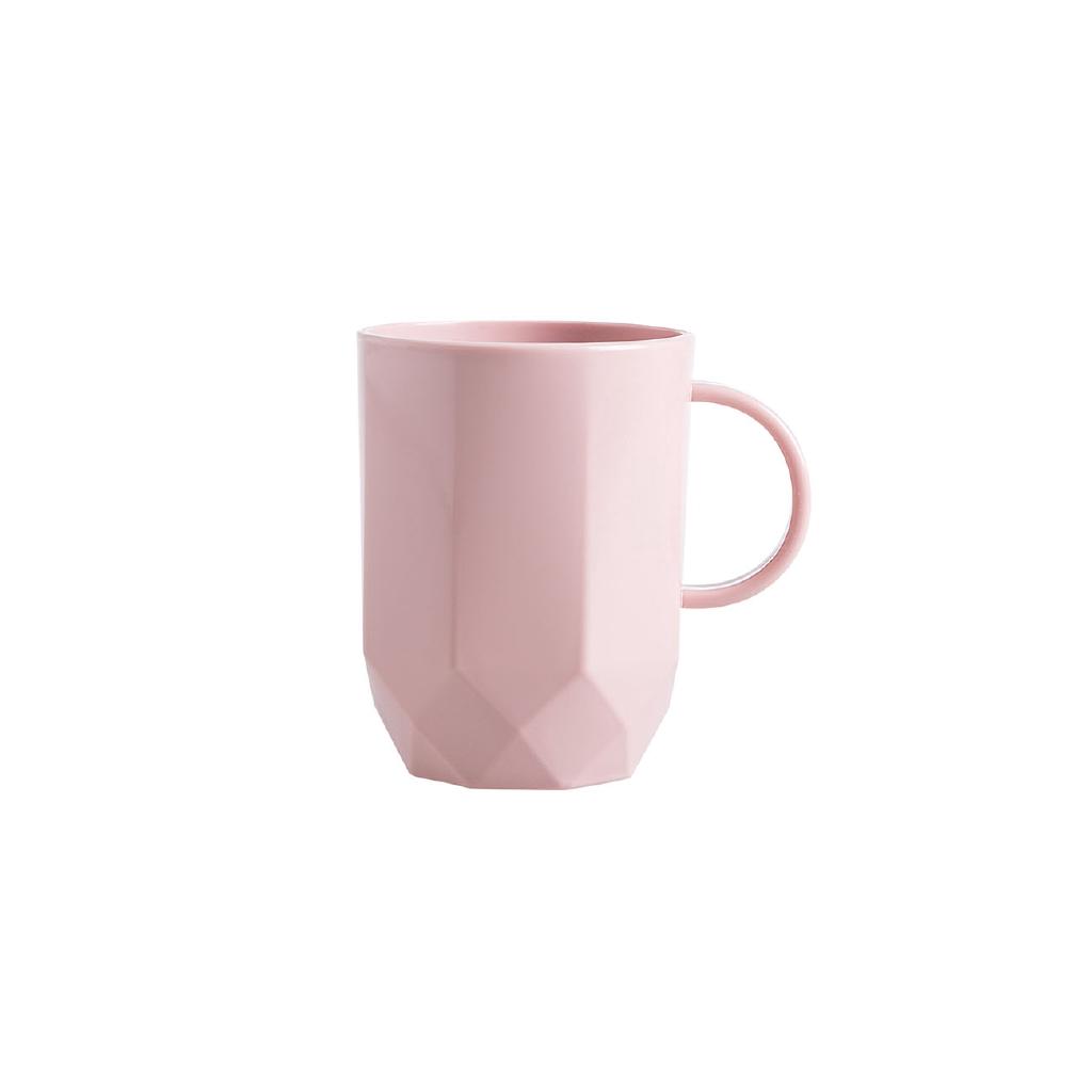 【現貨】居家家帶把手刷牙杯簡約情侶款漱口杯家用塑料牙缸牙刷杯子洗漱杯