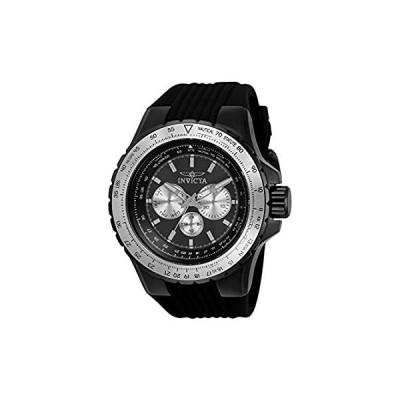 【新品・送料無料】Invicta Aviator Quartz Black Dial Men's Watch 33033