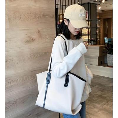 限定数量セール!!  韓国 INSスタイル ショルダーバッグ 女性  2020  アウトドア 新品 潮 韓国 百掛け 大容量 シンプル ファッション 減齢 カレッジ風 ハンドバッグ
