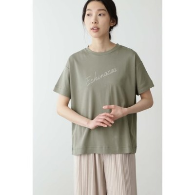 ◆「FOOD TEXTILE」スムース ロゴTシャツ