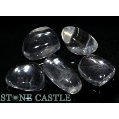 ☆置石一点物☆【天然石 置き石】水晶 (EX) 握り石 (5個セット) No.20