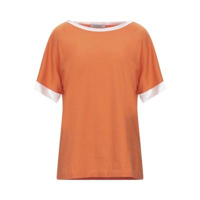 LA FILERIA T シャツ オレンジ 42 コットン 100% / シルク / ポリウレタン T シャツ