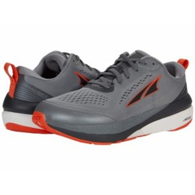Altra Footwear オルタフットウエア メンズ 男性用 シューズ 靴 スニーカー 運動靴 Paradigm 5 Gray/Orange【送料無料】