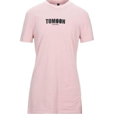 トム レベル TOM REBL メンズ Tシャツ トップス t-shirt Pink