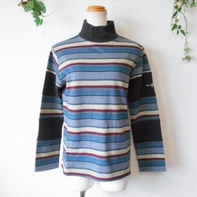 新品 タグ付き 7900円 DSC ドラッグストアーズ drug stores 男女兼用 刺繍 の 可愛い ハイネック セーター S