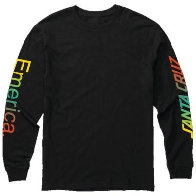 エメリカ EMERICA/EM X SC LOGO DROP LS TEE ( BLACK ) M ロングスリーブTシャツ
