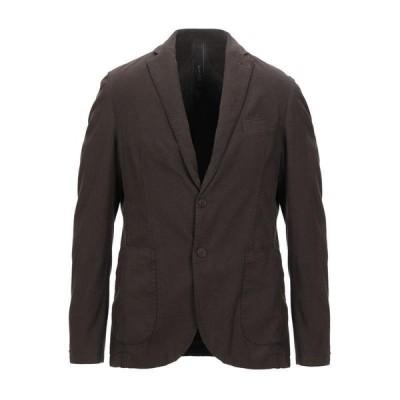 FAAG テーラードジャケット ファッション  メンズファッション  ジャケット  テーラード、ブレザー ダークブラウン