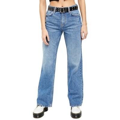 フリーピープル デニムパンツ ボトムス レディース Laurel Canyon Flared Jeans Blue