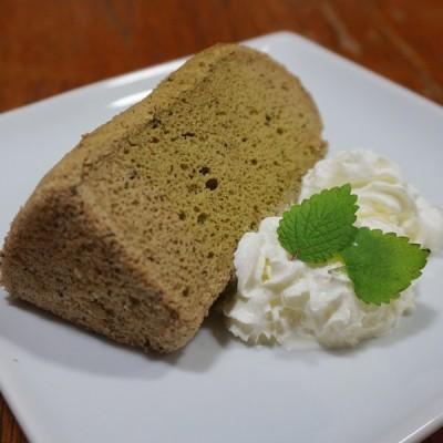 米粉のシフォンケーキ 抹茶 6カットセット グルテンフリー 養生卵使用
