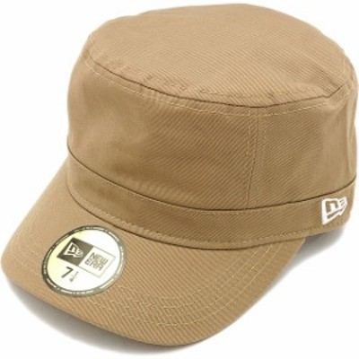 NEWERA ニューエラ WM-01 帽子 ミリタリー ワークキャップ カーキ/ホワイト(N0005700/11135253)