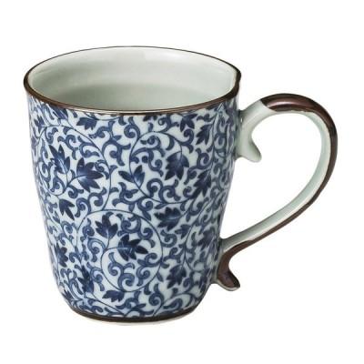 和食器 マグカップ / つる唐草六兵衛マグカップ 寸法: φ8 x 9cm(250cc)