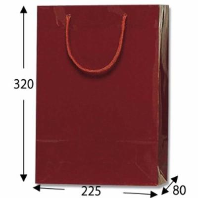 HEIKO 紙袋 ブライトバッグ SWT エンジ 10枚