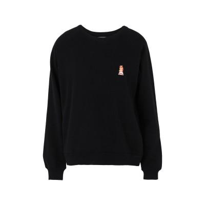 DEDICATED. スウェットシャツ ブラック M オーガニックコットン 100% スウェットシャツ