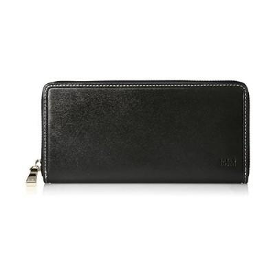 [タケオキクチ] 長財布 ラウンドファスナー タイム 726606 (ブラック One Size)