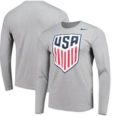ナイキ メンズ Tシャツ トップス US National Team Nike Legend Dri-FIT Long Sleeve Shirt