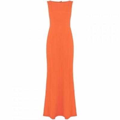ダンセル Damsel in a Dress レディース ワンピース マキシ丈 ワンピース・ドレス Elise Tie Back Maxi Dress Orange