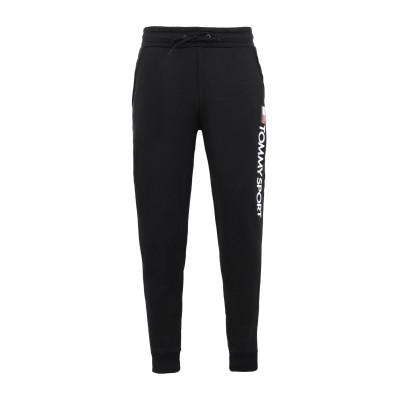 TOMMY SPORT パンツ ブラック XL ポリエステル 95% / ポリウレタン 5% パンツ