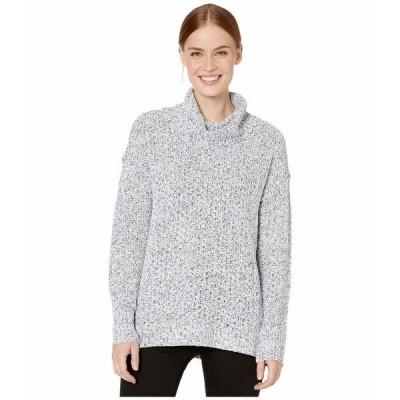 トリバル ニット&セーター アウター レディース Long Sleeve Cowl Neck Sweater Cream