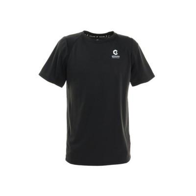 ジローム(GIRAUDM) 洗っても機能が続く UV 吸汗速乾 放熱素材 ドライプラスサイクルエアー 半袖Tシャツ 863GM1DT6691 BLK (メンズ)