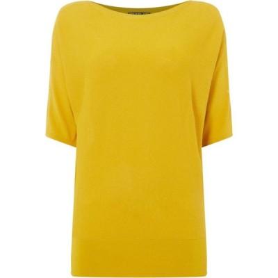 ビバ Biba レディース トップス Eyelet Knit Top Yellow