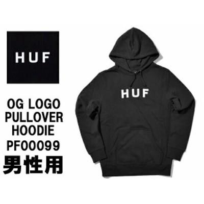HUF ハフ OGロゴ プルオーバーフーディ 男性用 PF00099 メンズ プルオーバー パーカー(01-23750400)