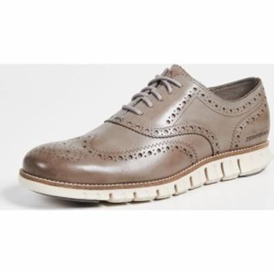 コールハーン Cole Haan メンズ 革靴・ビジネスシューズ ウイングチップ シューズ・靴 zerogrand wingtip oxfords Ironstone/Ivory