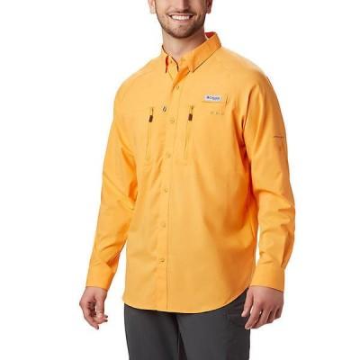 (取寄)コロンビア メンズ ターミナル タックル ロングスリーブ ウーブン シャツ Columbia Men's Terminal Tackle LS Woven Shirt Summer Orange 送料無料